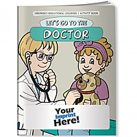 Coloring Book   Let's Go To The Doctor