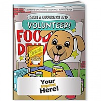 Coloring Book   Make A Difference And Volunteer!