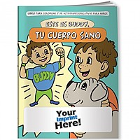 Coloring Book   Meet Buddy: Your Healthy Body (Spanish)