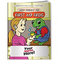 Coloring Book   Meet Freddy The First Aid Frog