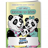 Coloring Book   My New Brother Or Sister