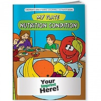 Coloring Book   My Plate: Nutrition Condition