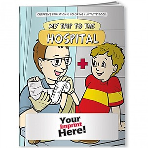 Coloring Book   My Trip To The Hospital