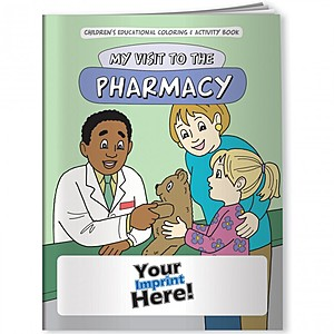 Coloring Book   My Visit To The Pharmacy