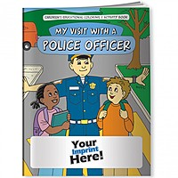 Coloring Book   My Visit With A Police Officer