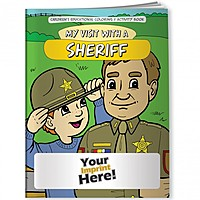 Coloring Book   My Visit With A Sheriff