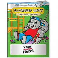 Coloring Book   Playground Safety With Bailey Squirrel