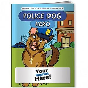 Coloring Book   Police Dog Hero