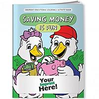 Coloring Book   Saving Money Is Fun