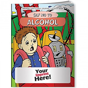 Coloring Book   Say No To Alcohol