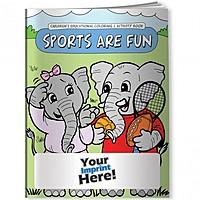 Coloring Book   Sports Are Fun