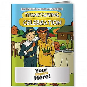 Coloring Book   Thanksgiving Celebration