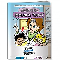 Coloring Book   Vaccines Keep The Creepy Crawlies Away: Immunize Today