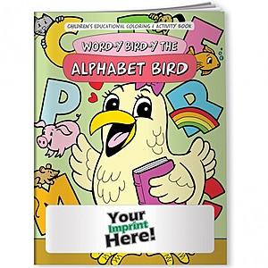 Coloring Book   Word Y Bird Y The Alphabet Bird