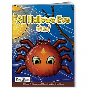 Coloring Book With Mask   All Hallows Eve Fun