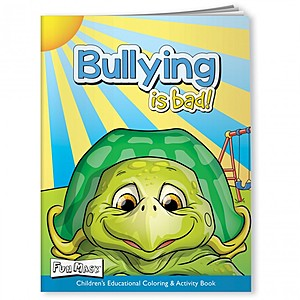 Coloring Book With Mask   Bullying Is Bad