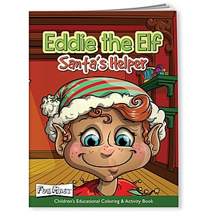 Coloring Book With Mask   Eddie The Elf