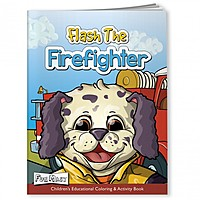 Coloring Book With Mask   Flash The Firefighter