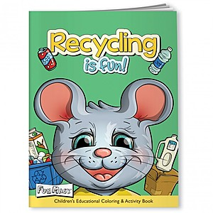 Coloring Book With Mask   Make Recycling Fun