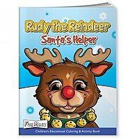 Coloring Book With Mask   Rudy The Reindeer