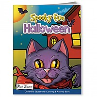 Coloring Book With Mask   Spooky Fun Halloween