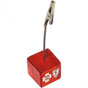 Cube Clip Memo Holder