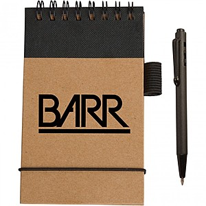 Eco Pocket Jotter With Micro Pen