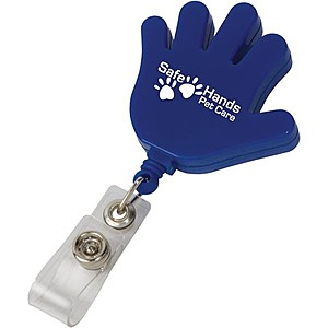Hand Retractable Badge Holder