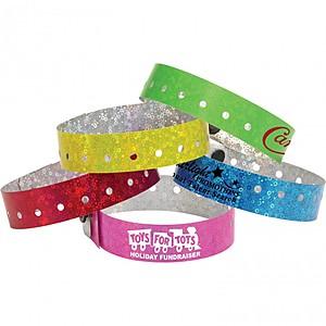Liquid Glitter Wristband
