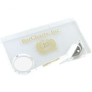 Magnifying And Ruler Letter Opener