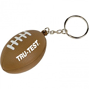 Mini Football Stress Reliever Key Tag