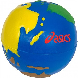 Multi Color Earth Stress Ball