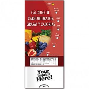 Pocket Slider   Calculating Carbs, Fat, And Calories (Spanish)