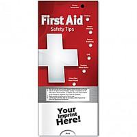 Pocket Slider   First Aid: Safety Tips