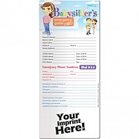 Post Up   Babysitter's Emergency Guide