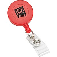 Retractable Badge Reel Round Metal
