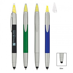 3 In 1 Pen/Highlighter/Stylus