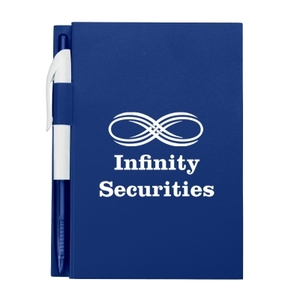 """4"""" X 6"""" Notebook With Pen"""