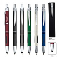 Aluminum Ball Pen With Stylus