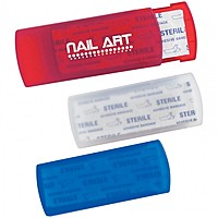 Bandages In Plastic Case