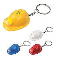 Hard Hat Led Key Chain