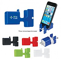 Phone Stand & Cord Wrap Combo