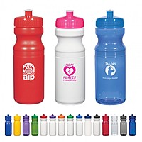 Poly Clear™ 24 Oz. Fitness Bottle