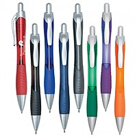 Rio Gel Pen With Contoured Rubber Grip