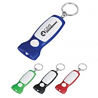Slim Led Light Key Chain
