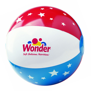 "16"" Stars & Stripes Usa Beach Ball"