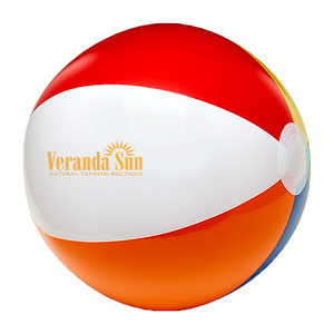 "6"" Six Color Beach Ball"
