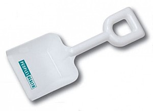 "6"" White Sand Shovel"