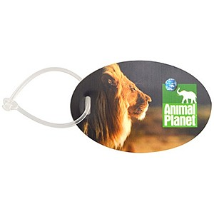 Oval Luggage Tag