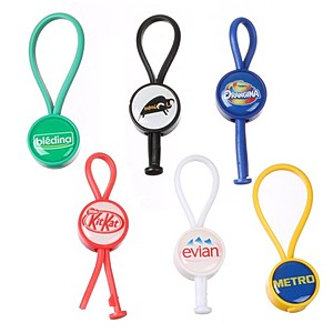 Domed Loop Full Color Key Chain